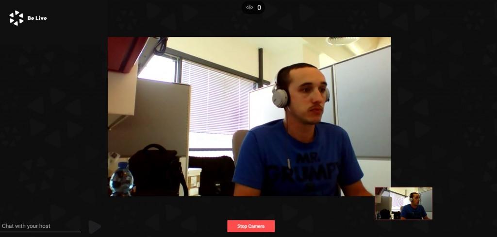 facebook live interview mode