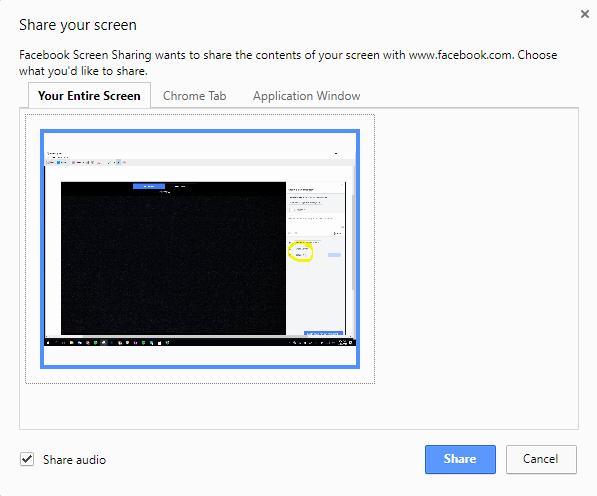 no sound on facebook live videos on computer
